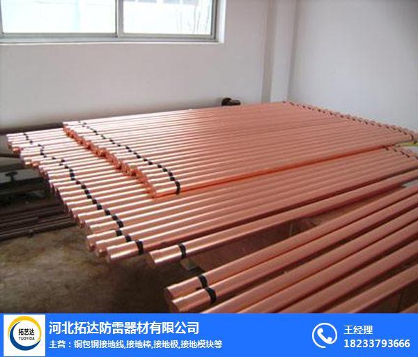 镀铜离子接地极-铜离子接地极-拓达防雷器材厂家