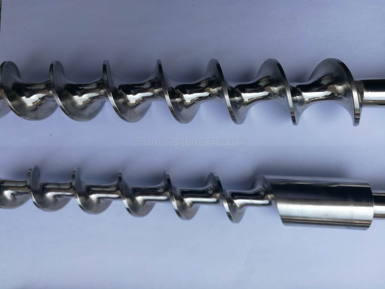 304不锈钢灌装机送料计量螺杆