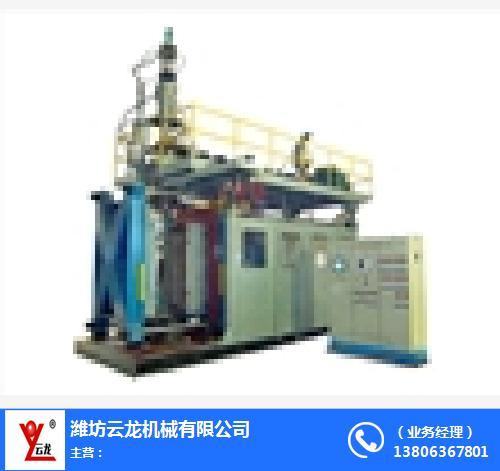 潍坊云龙机械(图)-小型塑料桶吹塑机-山东塑料桶吹塑机