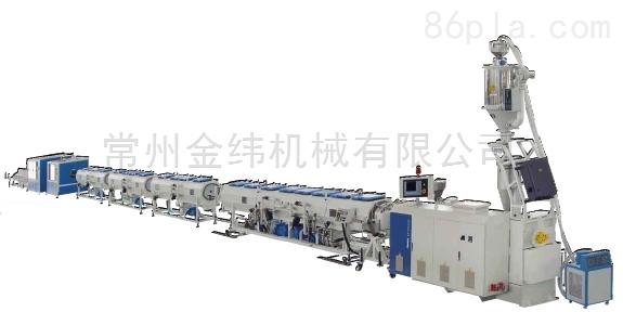 金纬HDPE燃气管节能高速管材生产线