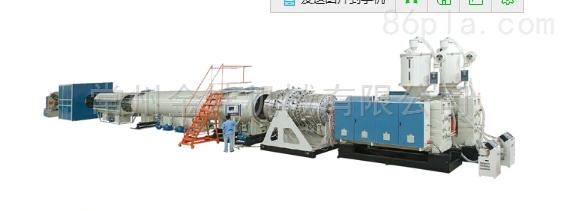 金纬大口径HDPE供水管管材生产线